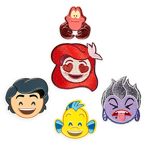 Disney Emoji The Little Mermaid Adhesive Patches