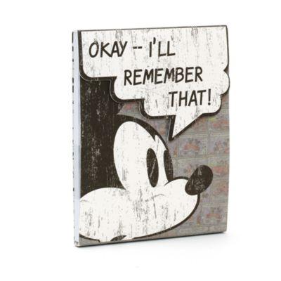 Mickey Mouse Comic Sticky Notes