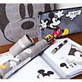Cahier A5 texturé à motif Mickey