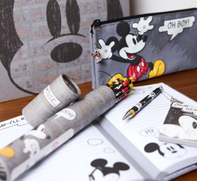 Mickey Mouse Comic Textured A5 Notebook