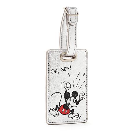 Étiquette à bagage Mickey Mouse Sketch