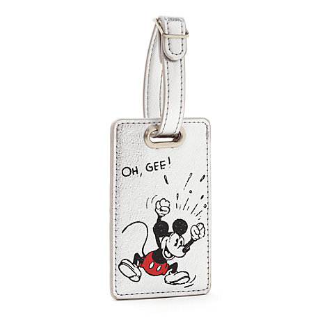 Mickey Mouse Sketch Luggage Tag