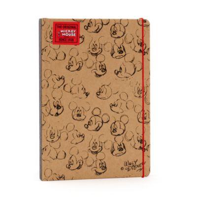 Quaderno A5 marrone Sketch Topolino