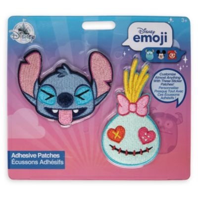 Disney Emoji Stitch and Scrump Adhesive Patches