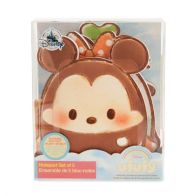 Mickey and Friends Ufufy Notebooks, Set of 5