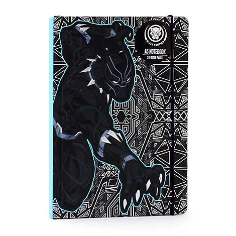 Cuaderno A5 Black Panther