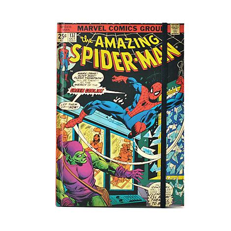 Marvel - Spider-Man - A5 Notizbuch mit Comic-Motiven auf dem Einband