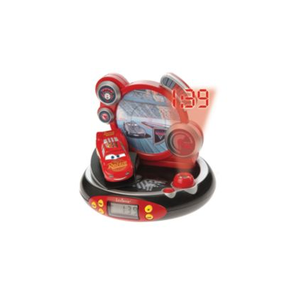 Disney Pixar Cars 3 Alarm Clock Radio Projector