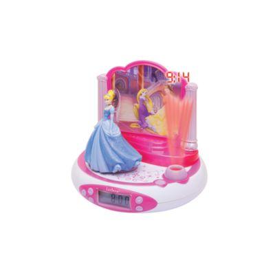 Despertador con radio y proyector princesa Disney