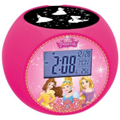 Radiosveglia con proiezione dell'ora Principesse Disney