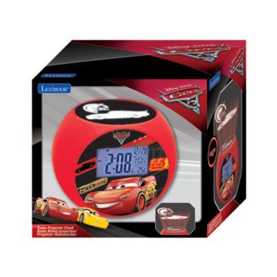 Reloj con radio y proyector Disney Pixar Cars 3