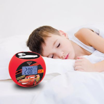 Disney Pixar Cars 3 Radio Projector Clock