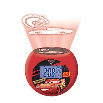 Disney Pixar Cars 3 Radio Projector Clock
