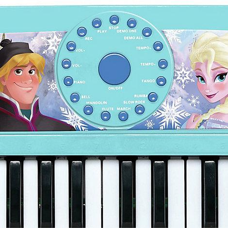 Frozen Electronic Keyboard