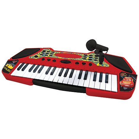 Disney Pixar Cars 3 Electronic Keyboard
