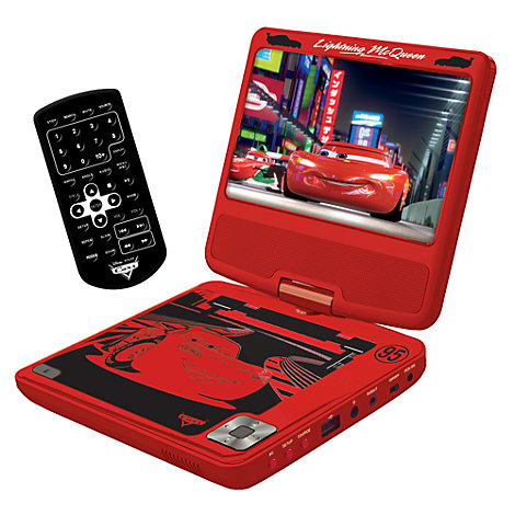 disney pixar cars 3 portable dvd player. Black Bedroom Furniture Sets. Home Design Ideas