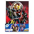 Disney Store Avengers: Infinity War Notebooks, Set of 3