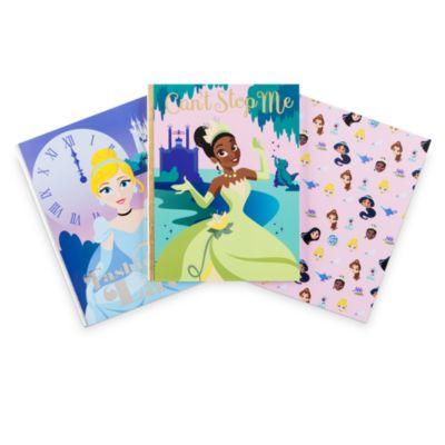 Disney Store Disney Princess Notebooks, Set of 3