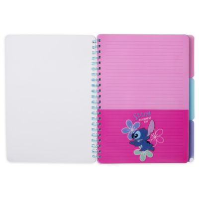 Lot cahier+dossier Stitch Disney Store