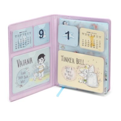 Diario con calendario colección Disney Animators