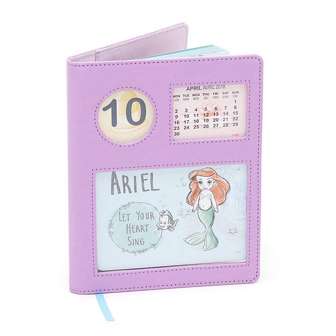 Diario con calendario colección Disney Animators, Disney Store
