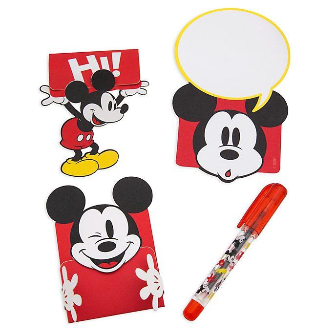 Disney Store Lot de notes Mickey Mouse pour le déjeuner