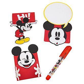 Set de notas de Mickey Mouse para la fiambrera , Disney Store