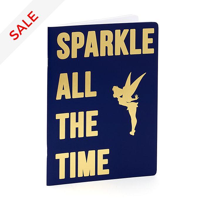 Disney Store Tinker Bell Navy Notebook