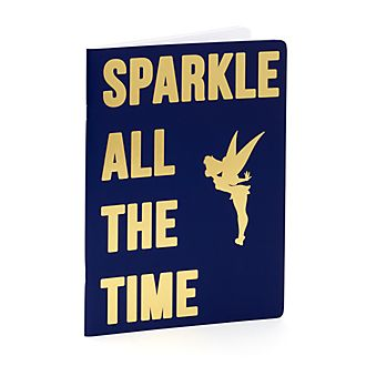 Disney Store Tinker Bell Navy Notebook