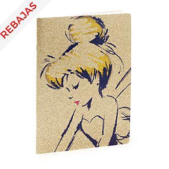 Cuaderno dorado Campanilla, Disney Store