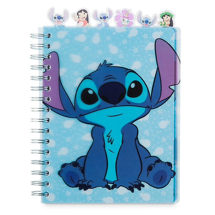 Disney Store Stitch Notebook