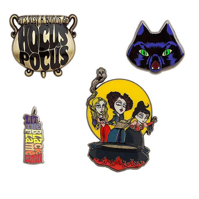 Disney Store Hocus Pocus Pin Set