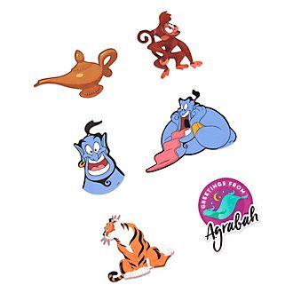 Disney Store Autocollants Aladdin pour accessoires