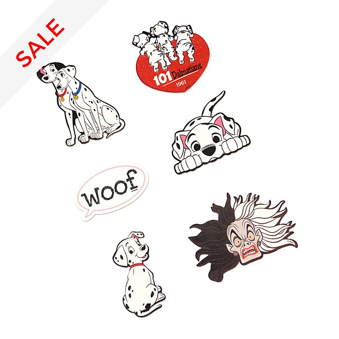Disney Store 101 Dalmatians Accessory Stickers