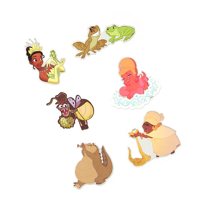 Disney Store The Princess and the Frog Accessory Stickers