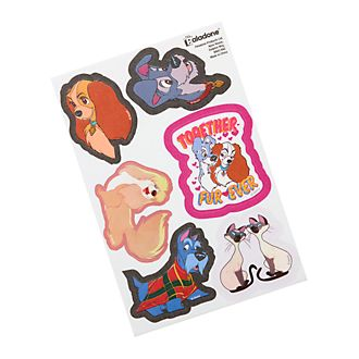 Disney Store Lady and the Tramp Iron-On Patches