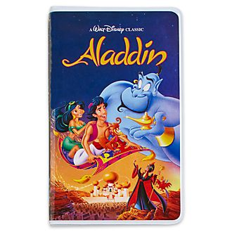 Diario tipo VHS Aladdín, Oh My Disney, Disney Store