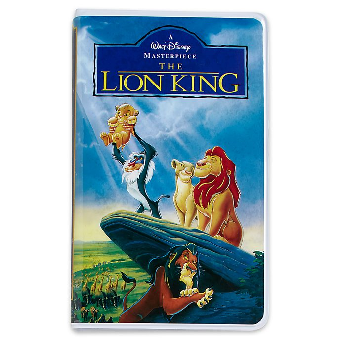 Disney Store Oh My Disney The Lion King VHS Journal