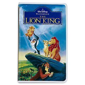 Diario tipo VHS El Rey León, Oh My Disney, Disney Store