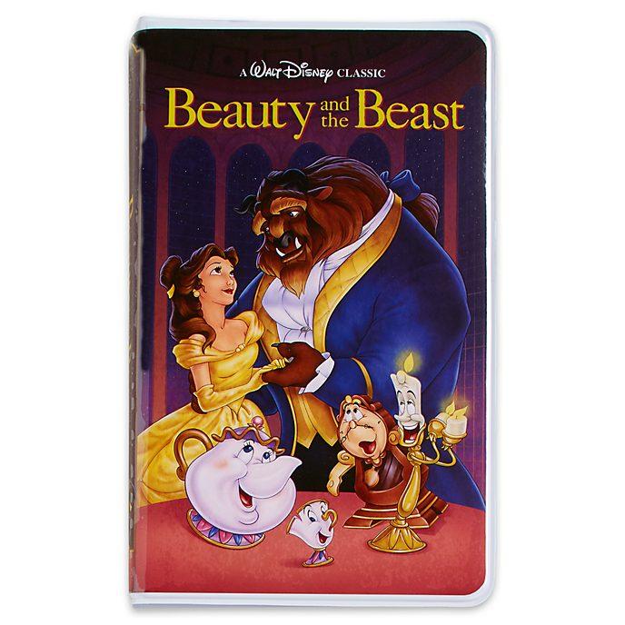 Diario tipo VHS La Bella y la Bestia, Oh My Disney, Disney Store