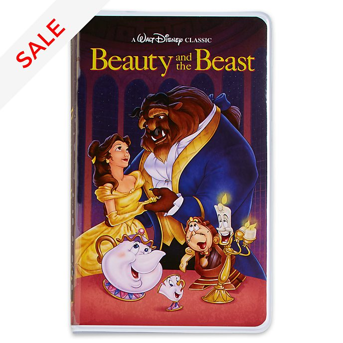 Disney Store Oh My Disney Beauty and the Beast VHS Journal