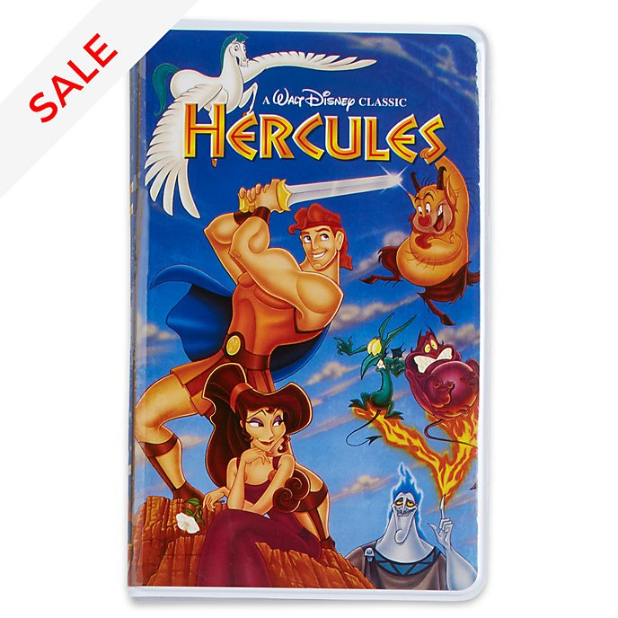 Disney Store Oh My Disney Hercules VHS Journal