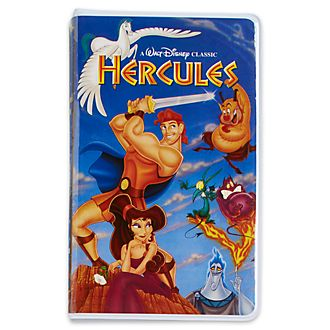 Disney Store Journal VHS Hercule Oh My Disney