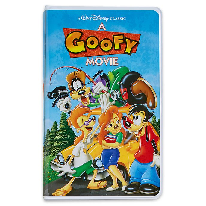 Disney Store Oh My Disney A Goofy Movie VHS Journal