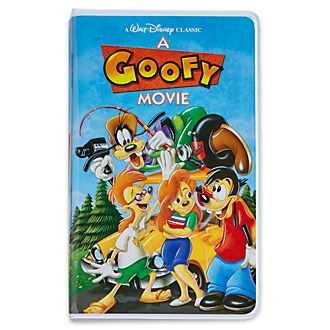 Diario tipo VHS Goofy e Hijo, Oh My Disney. Disney Store