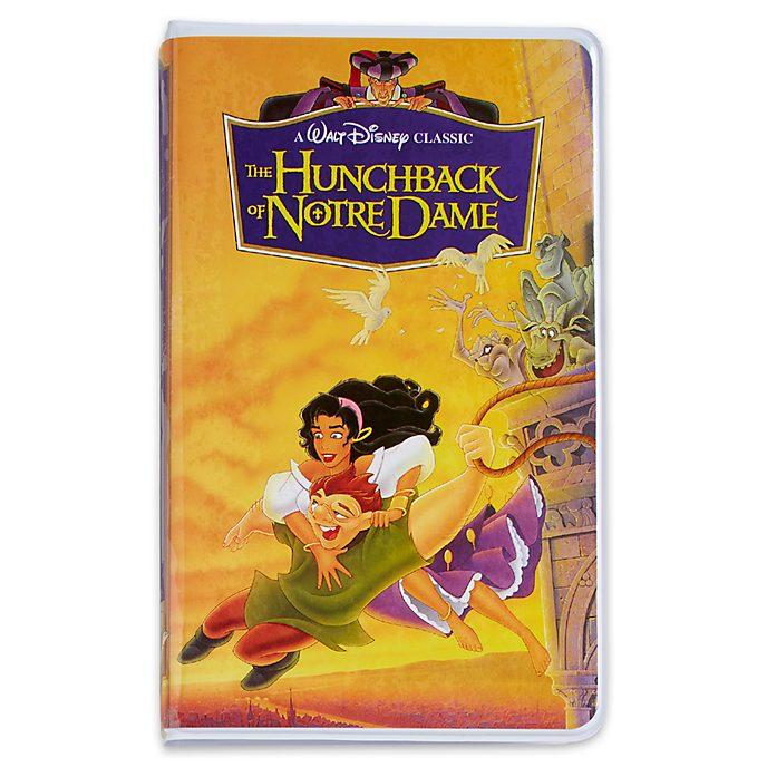 Diario tipo VHS El Jorobado de Notre Dame, Oh My Disney, Disney Store