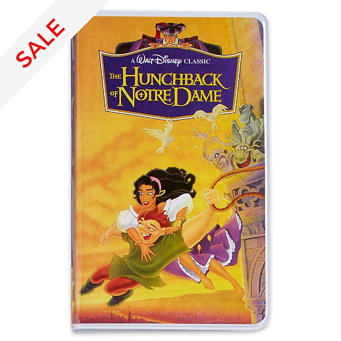 Disney Store Oh My Disney The Hunchback of Notre Dame VHS Journal