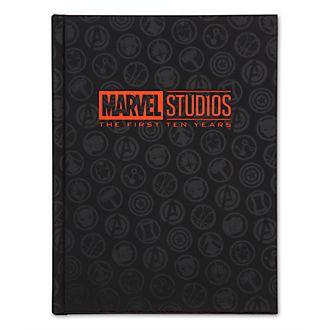 Diario 10 aniversario Marvel, Disney Store