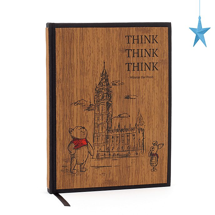 Diario Winnie the Pooh, Christopher Robin, Disney Store