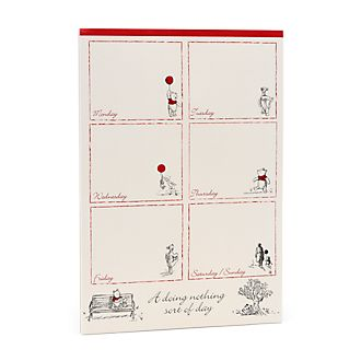 Disney Store Winnie the Pooh Day Planner, Christopher Robin